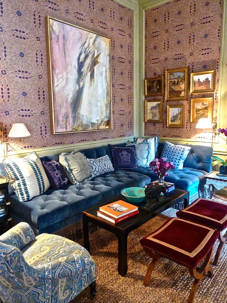 Alexa Hampton Kips Bay Showhouse 2014 room. a touch of the exotic with a side of gorgeous!