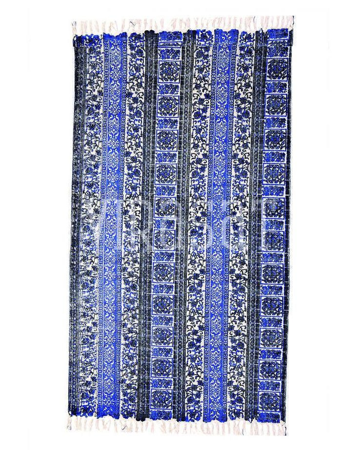#TheVirasat. Buy Blue Color White Shades #Home Premium Quality #Decorative #Carpet Online @ Best Price In India. http://thevirasat.com/shop/  DM or email us at hello@thevirasat.com for retail orders, exports, wholesale or for anything else you may require. http://thevirasat.com  #Mumbai #jaipur #textilesexporter #blockprints #kanthawork #london #londonhomes #texas #cheshire #stalbans #hertfordshire #jaipurtextiles #bedsheets #bedcovers #VirasatTextiles #blockprint #textiles #handicrafts