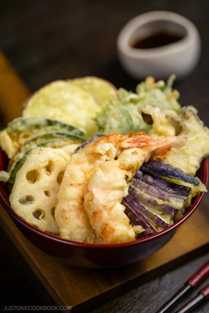 Tempura Donburi   Easy Japanese Recipes at JustOneCookbook.com