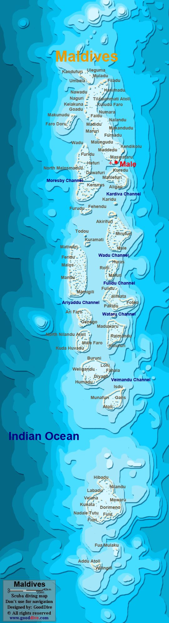 Mapa Das Maldivas Continente Asiatico MaldivesThe Maldives