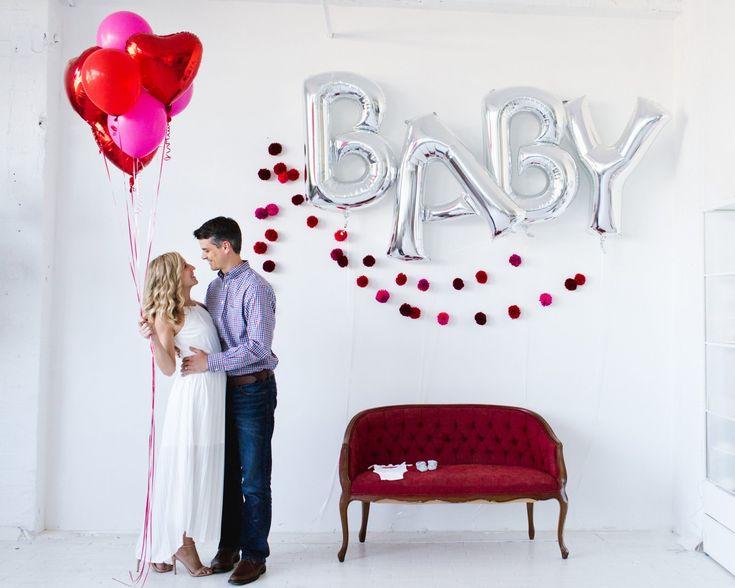 Be Mine ~ Valentineu0027s Pregnancy Announcement