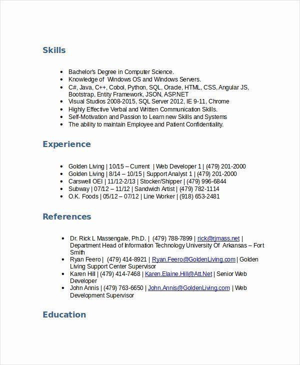 Stocker Job Description Resume Lovely 5 Stocker Resume Templates Pdf Doc In 2020 Computer Science Degree Kindergarten Worksheets Printable Job Description