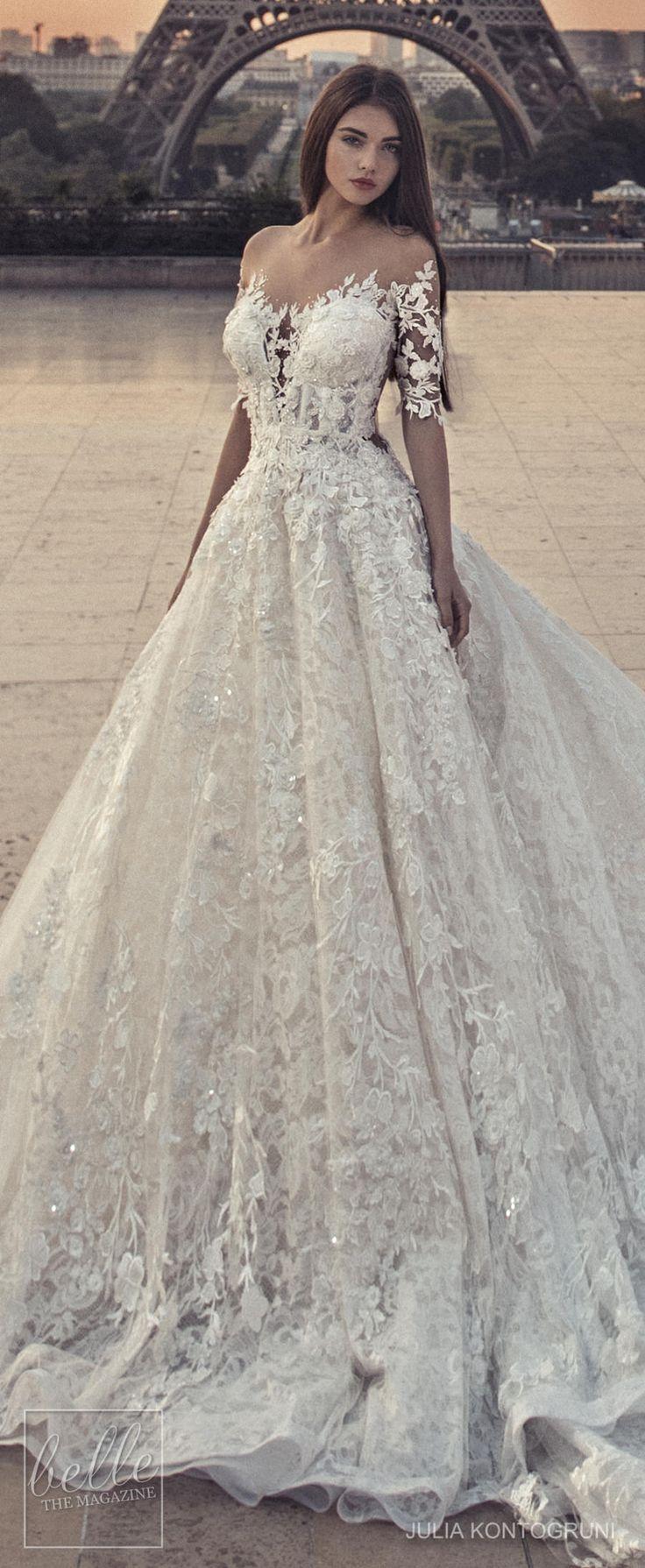 Julia Kontogruni Wedding Dress Collection 2018