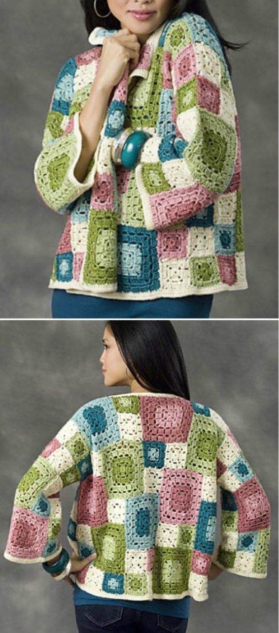 Stunning Granny Square Cardigan Pattern Ideas
