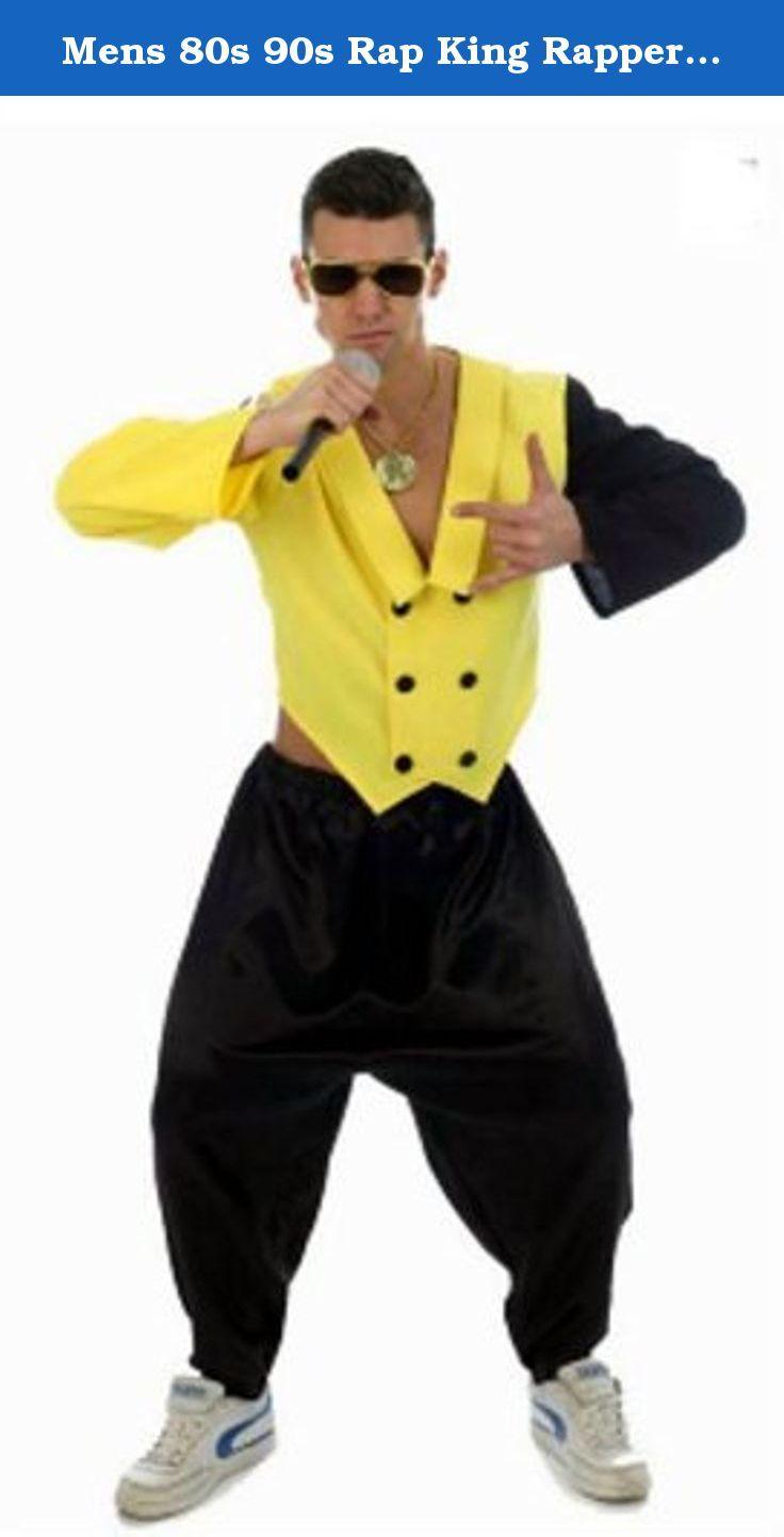 Mens 80s 90s Rap King Rapper DJ MC Hammer Fancy Dress Costume M/L by Star55. Brand New.