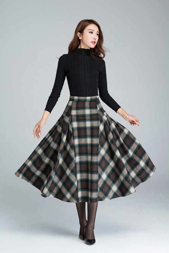 Más de 25 ideas únicas sobre Patrones de falda larga en ...
