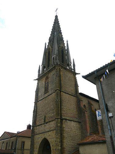 Trie-sur-Baïse, Hautes- Pyrénées: église Notre-Dame des Neiges