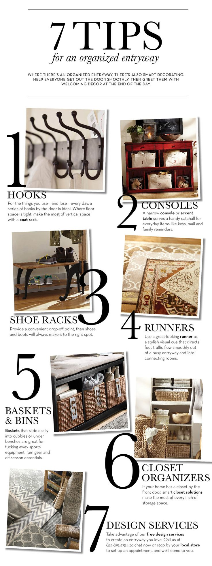 7 Tips for an Organized Entryway