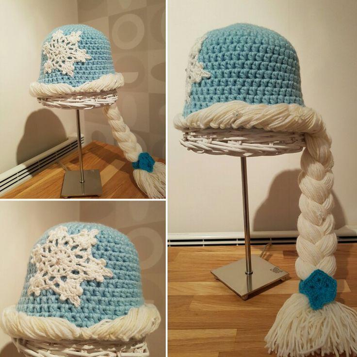 Croshet Frozen Elsa beanie