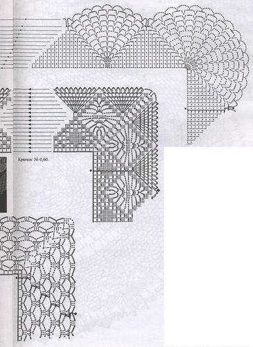 Кайма или обвязка салфеток крючком ...от Журнала Мода и модель. Обсуждение на LiveInternet - Российский Сервис Онлайн-Дневников