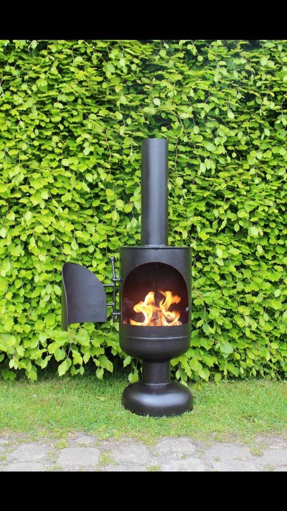 Chiminea Firepit Log Burner Wood Burner Patio Heater Yurt Man Cave Shed In 2020 Gas Bottle Wood Burner Patio Heater Wood Heater