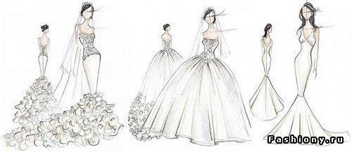 Свадебные платья Kim Kardashian / свадебные фото ким кардашян
