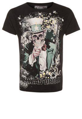 T-shirts print - sort