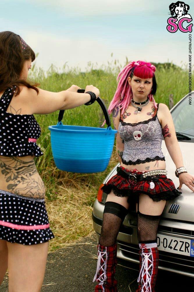 Eden & RiaeSuicide Girls  Get complete set download link here http://adf.ly/1dZdA0