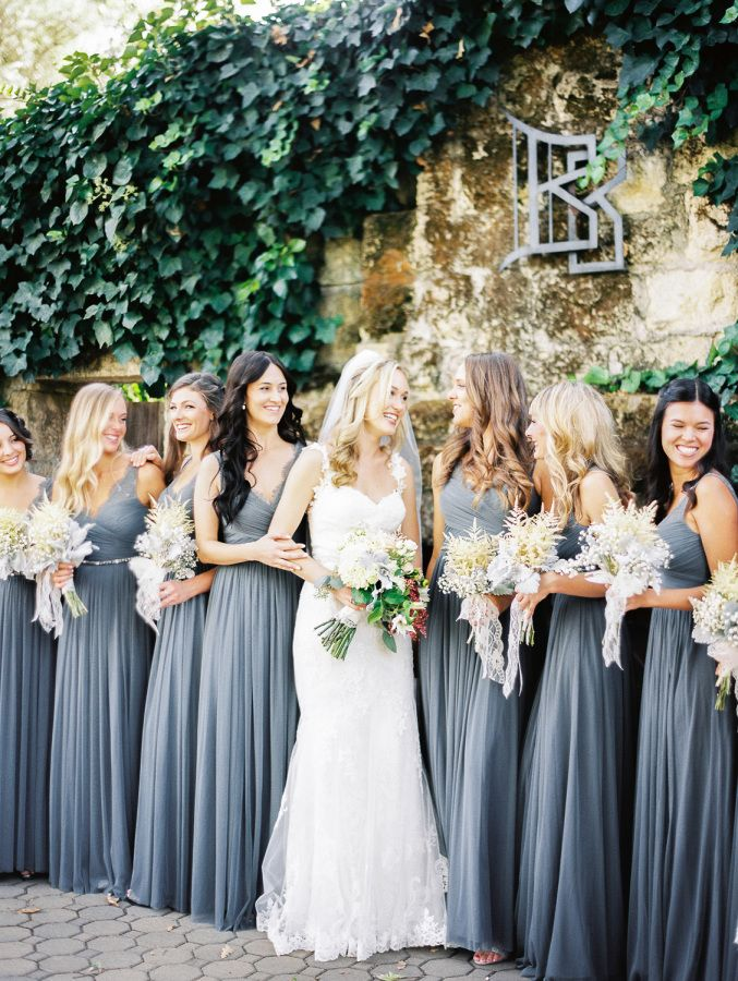 17 Best images about Grey Bridesmaids Dress Inspirations on ...