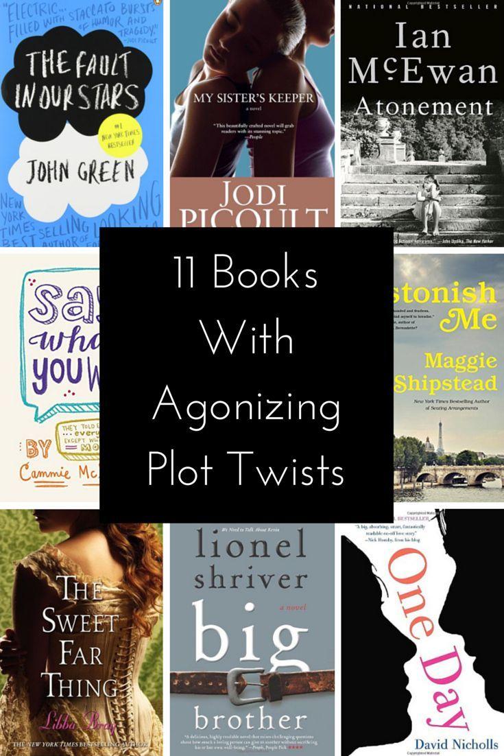 Books with crazy plot twists