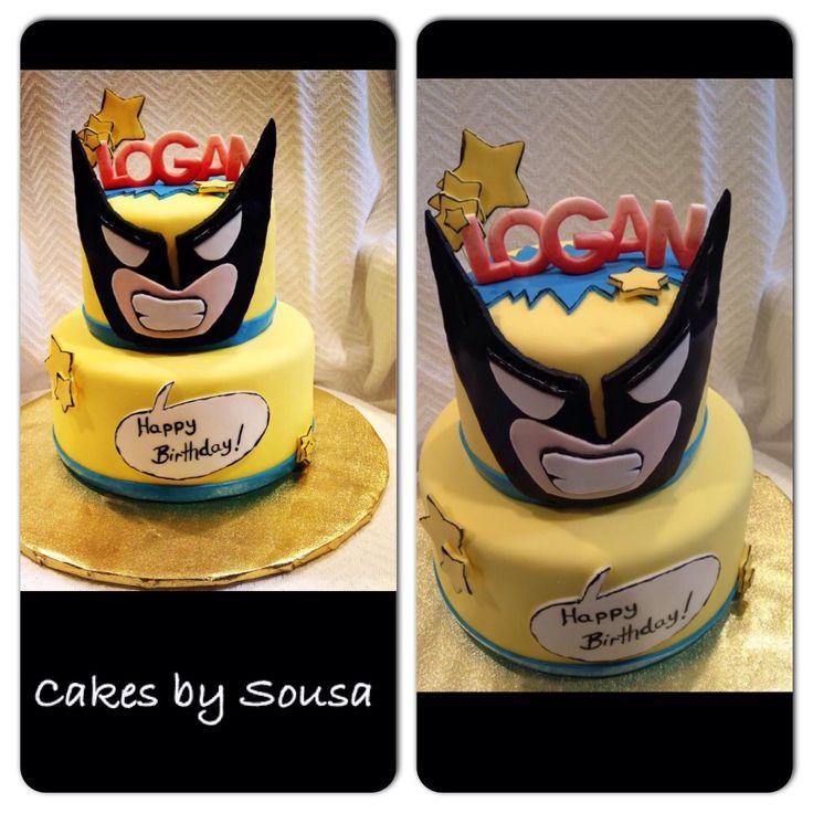 Wolverine cake