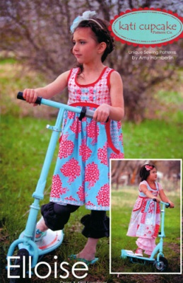 Elloise by Kati Cupcake: Sewing Stuff, Clothing Patterns, Moda Fabrics Elloise, Elloise Dress Br Kati, Dress Br Kati Cupcake, Girls Things, Clothing Crafts