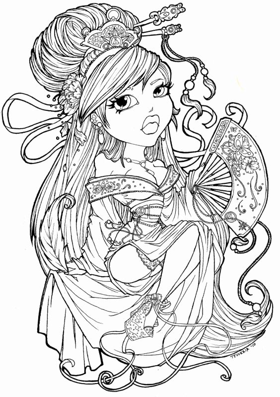 Sexy Adult Coloring Pages Mermaid