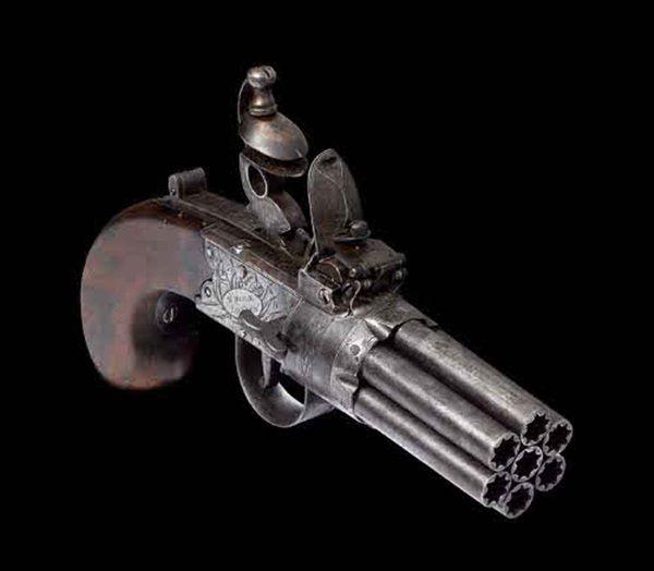 Armas antigas: Belas e mortais mas são verdadeiras obras de arte