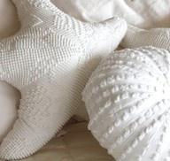 Chenille Starfish & SeaUrchin Pillows..great for a beach home