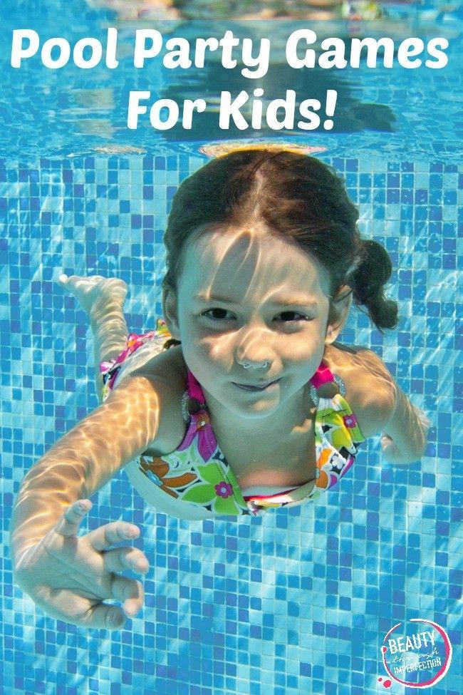 5 Fun Pool Party Games