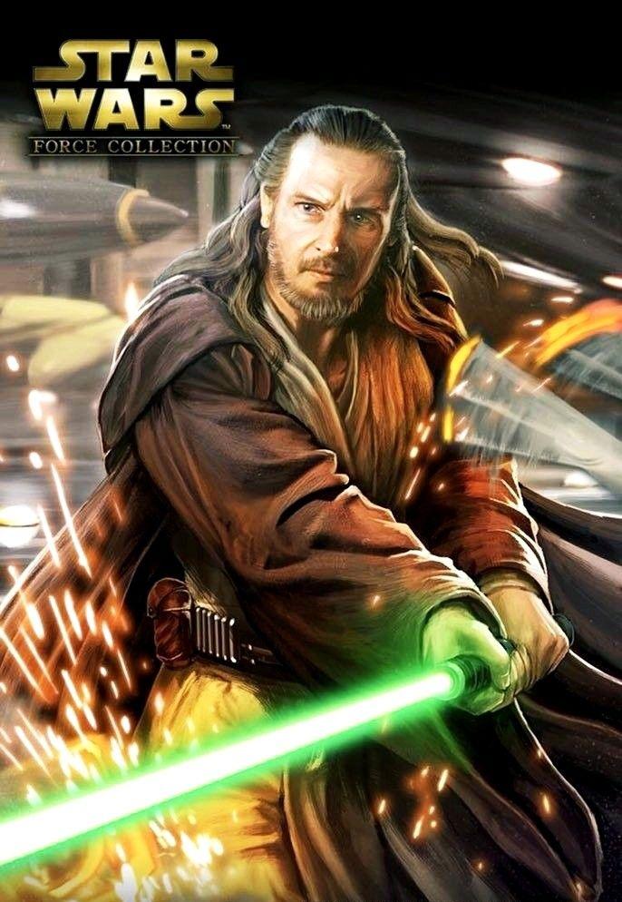 Qui Gon Jinn Star Wars Force Collection Star Wars Images Star Wars Force Collection Star Wars Pictures