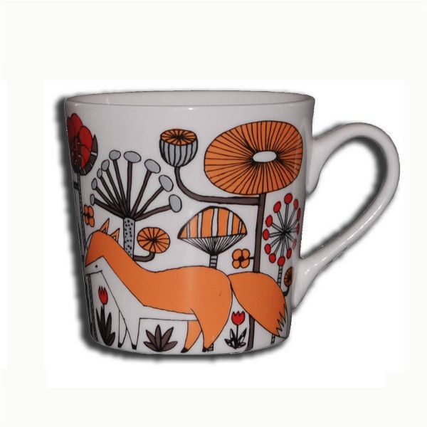 mug ,,kind fox,, design of Norway by Anna Strøm  http://www.design-of-norway.no