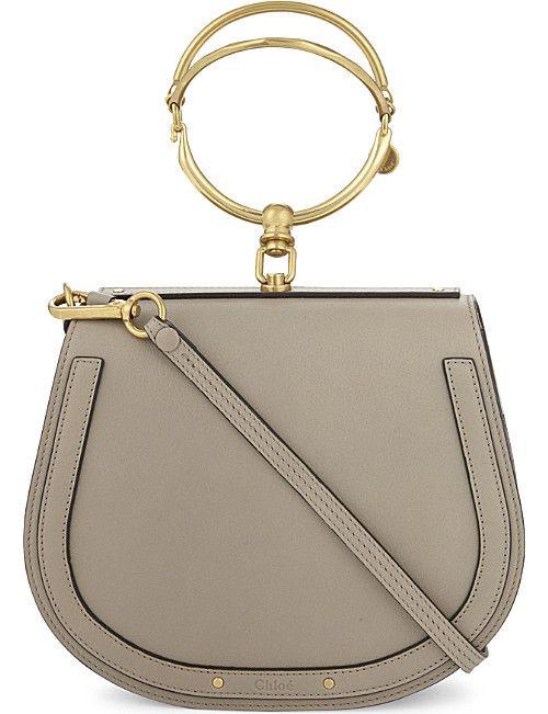CHLOE Nile rounded leather cross-body satchel