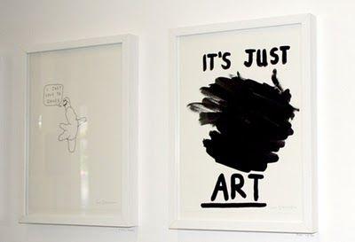 it's just art
