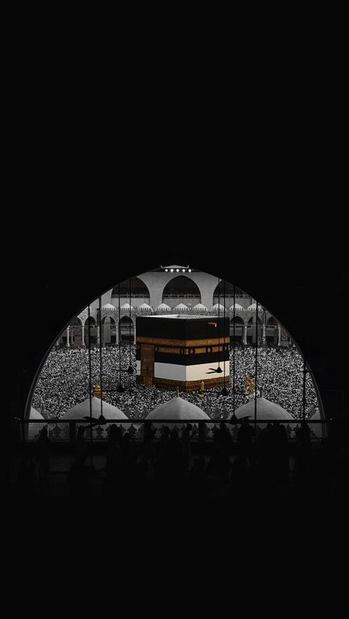 wallpapers, الحج, and الكعبة المشرفة image
