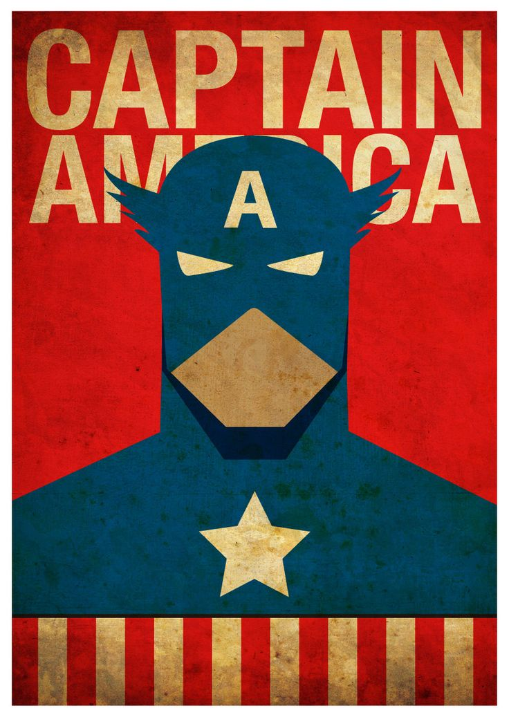 8x10 Superheroes Posters 6 Posters for 45 von MyGeekPosters
