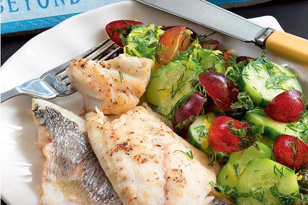 Рецепты от Юлии Высоцкой: рыба со свежим огурцом, салат с пастой и Печенюшки с имбирем - 7Дней.ру