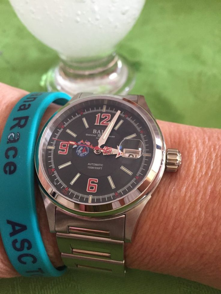 Ball Fireman Racer St. Petersburg-Habana Special Edition watch with automatic caliber.