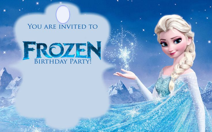 Free Frozen Invitations