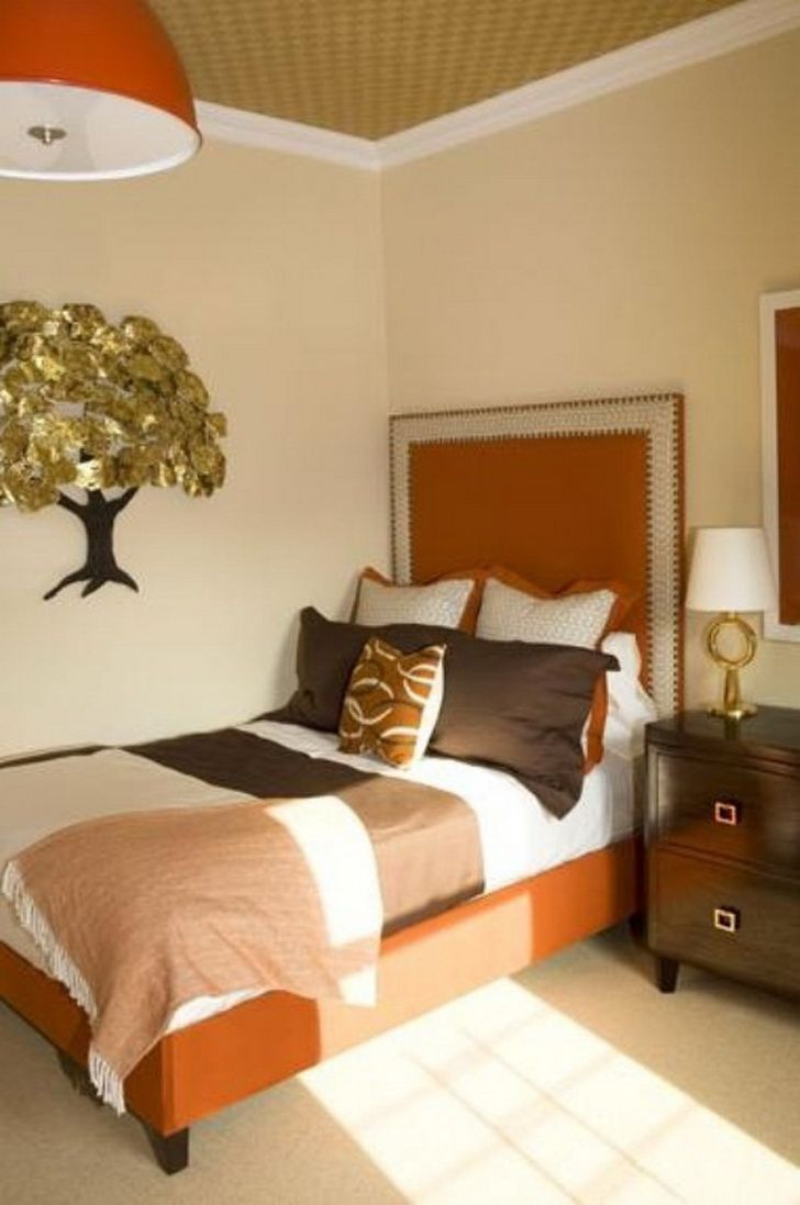 Enhance Your Bedroom With The Ideal Paint Color Pattern And