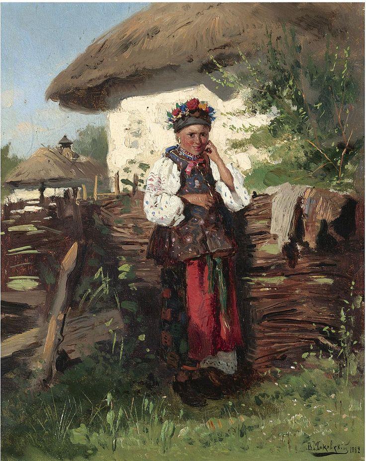 Утро сестричка, картинки украинских художников