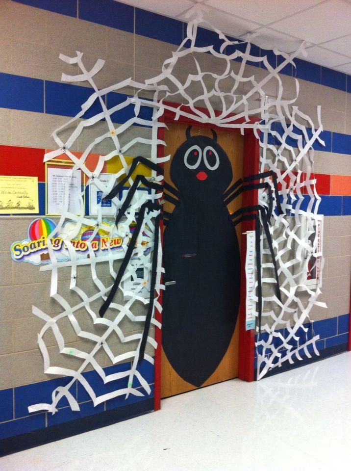 Halloween Classroom Wall Decorations ~ Best ideas about class door on pinterest classroom