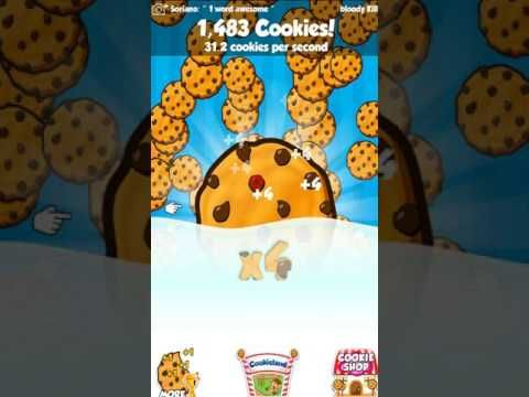 Free iOS and Android Game Cookie Clickers 2  Gameplay