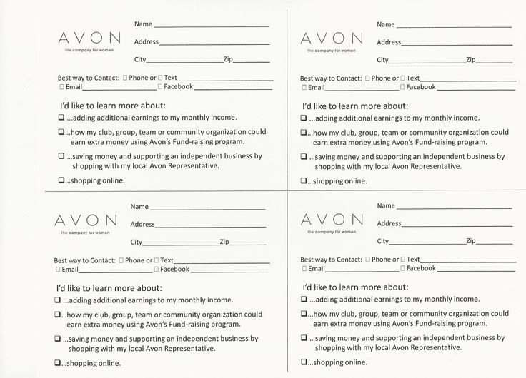 Best Avon Brochure Notes Images On   Avon Ideas Avon