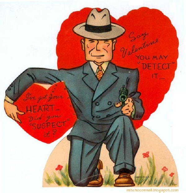 140 best 1950s Valentines puns images – Vintage Valentine Cards to Print