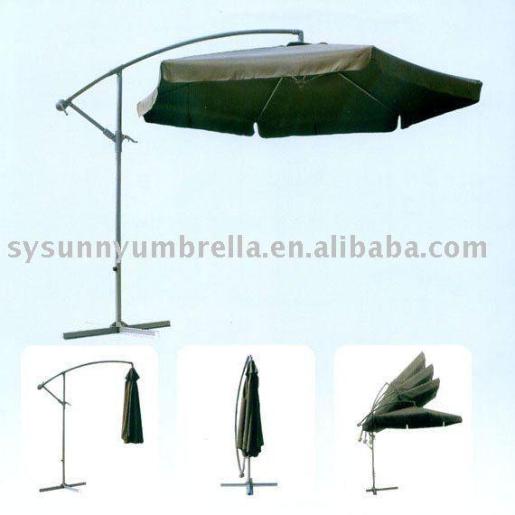 #banana hanging garden umbrella, #parasol garden umbrella, #outdoor garden umbrella