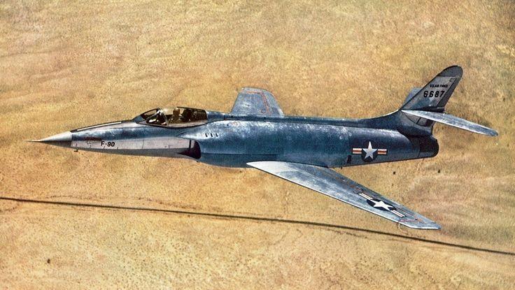 SuperSonic Youth - myoctoberrevolution: Lockheed XF-90