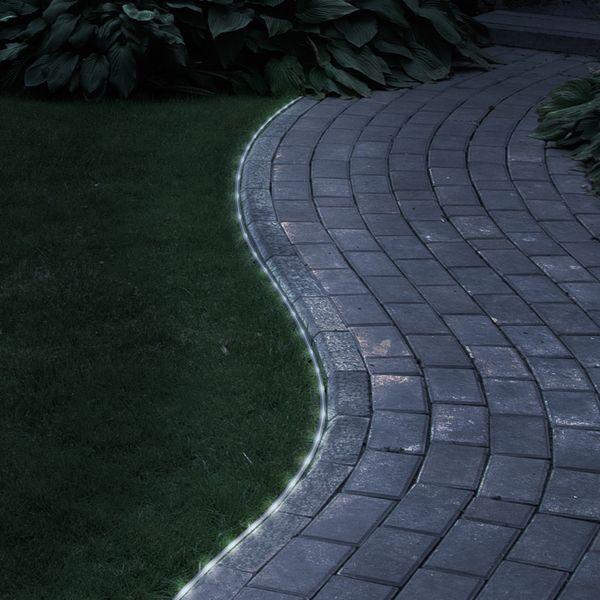 Pure Garden 32-foot Solar LED Rope Light (100 White LED Lights)