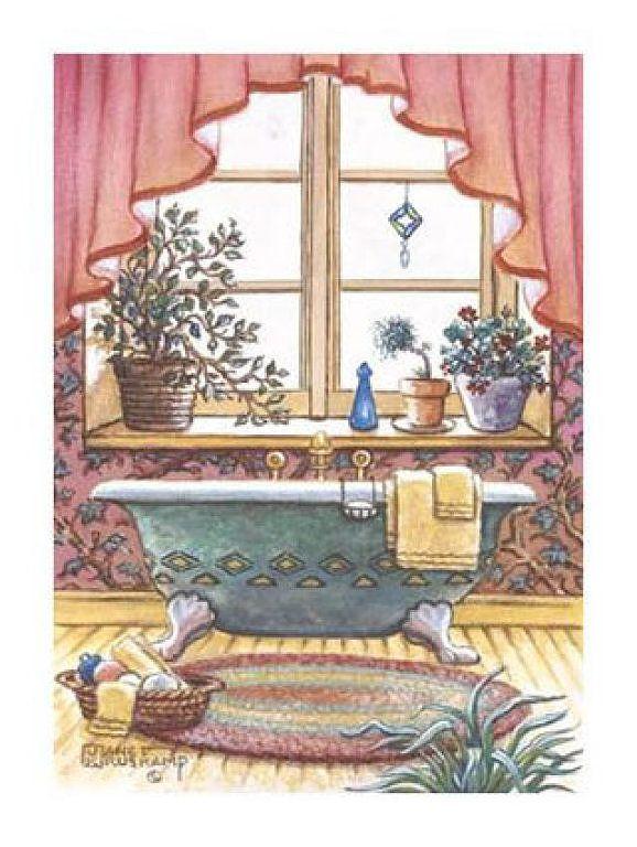 para el cuarto de baño (con imágenes)   Arte en lienzo ...