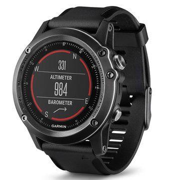 Garmin Fenix3HR Sapphire GPS+GLONASS Watch Outdoor Multi-Sports Wristwatch 100M Waterproof Smart Wifi Connect Photoelectricity Heart Rate Sensor Fitness Training For Running Climbing Swim Golf Sale - Banggood.com