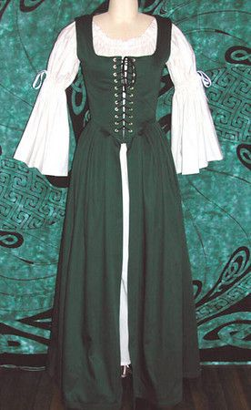 I want my next outfit to be an Irish dress.