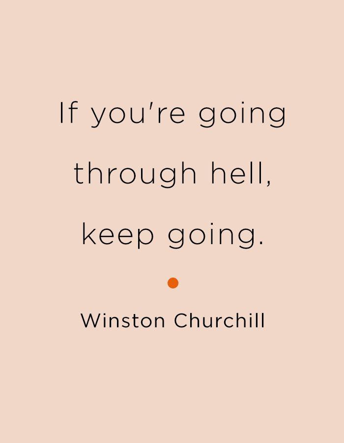 Keep going