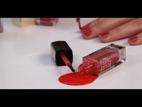 How to Get Nail Polish Stains Out of Clothes | Beauty How To | POPSUGAR Beauty