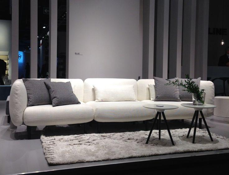 Elle Sofa At IMM Cologne L By Softline L Design Charlotte Høncke